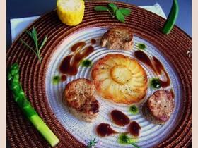 豚フィレ肉バルサミコソース