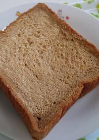 黒糖パンにピーナッツバター?Σ(゜Д゜)