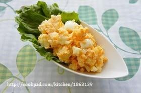 お弁当にも♡炊飯器で簡単めんたいもサラダ