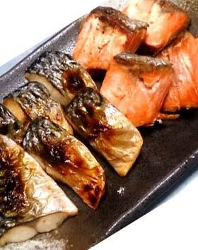 お弁当に冷凍自然解凍の焼き魚(鯖・鮭) by 簡単でおいしいが ...