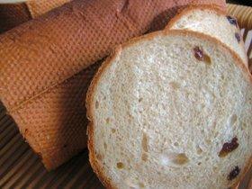 黒糖レーズンメッシュパン