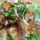 ◆野菜たっぷり♪赤魚の唐揚げ◆