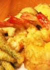 美味しい♥サクサク天ぷらの衣