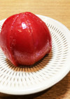 暑い日に〜簡単すぎる☆冷凍☆塩トマト