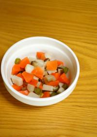 離乳食*完了期『野菜たっぷり筑前煮』