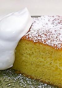 アーモンドプードル♪しっとりケーキ♪