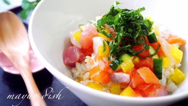 海鮮 丼 レシピ