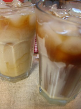 おうちでアイスベトナムコーヒー♪