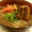 豚のゆで汁☆中華麺で絶品沖縄そば簡単再現