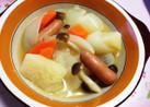 コールラビのスープ煮