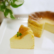 簡単!混ぜるだけ♪濃厚チーズケーキ♡の写真