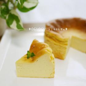 簡単!混ぜるだけ♪濃厚チーズケーキ♡
