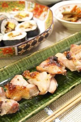 魚焼きグリルで♪鶏もも肉のうま塩焼き