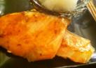 簡単☆フライパンで鮭の酒蒸し焼き