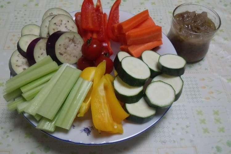野菜 バーニャ カウダ