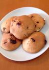 砂糖・バター控えめ豆乳スコーンクッキー