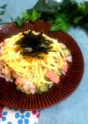 おもてなしに❀鮭と胡瓜の彩りちらし寿司❀