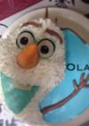 オラフ  立体ケーキ☆アナと雪の女王
