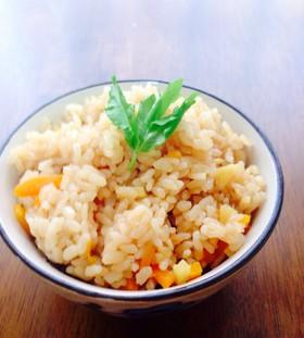 【管理栄養士レシピ】生姜の炊き込みご飯