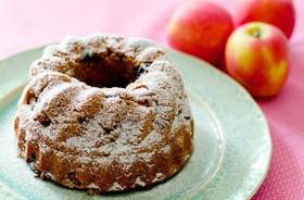 林檎とラムレーズンのケーキ (GF)