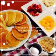 ふんわり香ばしい☆ハワイアンパンケーキの写真