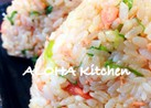 弁当&朝食に!簡単ゴマ油香る鮭のおにぎり
