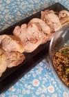 梅ジャムのチキンロール煮