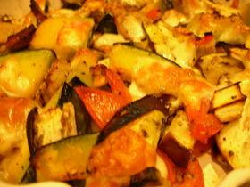 野菜のオーブン焼き〜イタリアン風