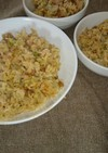 姉妹が好きな納豆レタス炒飯