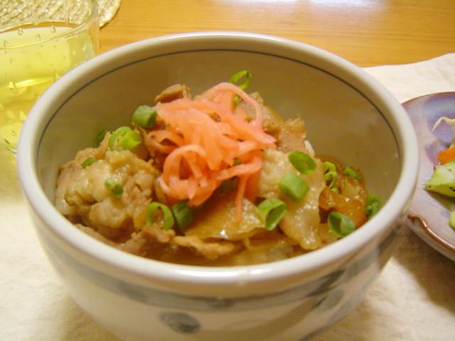 下味、合せ調味料なしで激ウマ☆豚丼☆