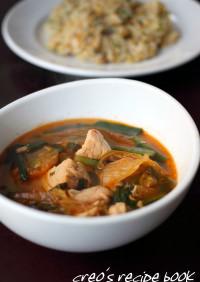 キムチとツナのスープ