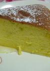 ふわふわかぼちゃのスフレケーキ