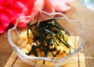 あっさり☆長芋の海苔ごまポン酢和え☆