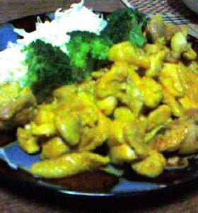 チキンのカレー焼(タンドリーチキン風?)