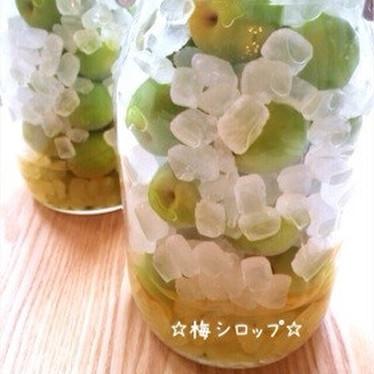 ☆梅シロップ☆(梅ジュース)