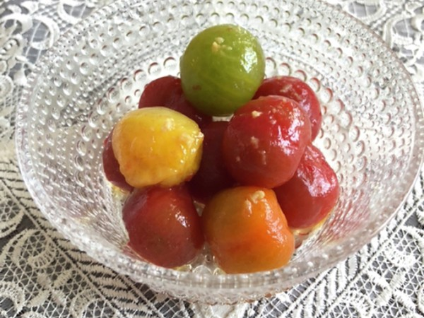 塩レモンでさっぱり☆トマトのマリネ