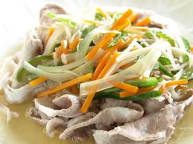 豚肉の野菜あんかけ