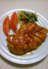 安く美味しく☆鶏むね肉でやわらかトンテキ