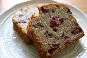 ブルーベリーのバウンドケーキ