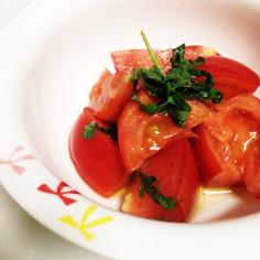 青じそトマト