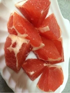3分カット☆グレープフルーツの切り方