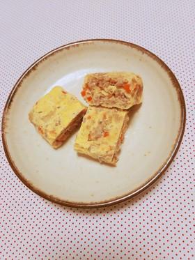 〖お弁当や朝食に♡挽き肉入り卵焼き〗