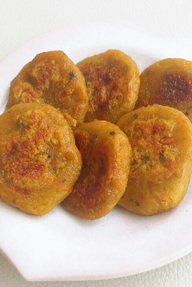 かぼちゃの煮物をリメイク★かぼちゃ餅