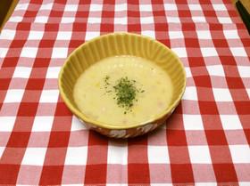 低脂肪乳☆さっぱりヘルシーコーンスープ