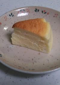 スライスチーズでスフレチーズケーキ
