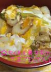 ☆ちくわと長ネギの卵とじ丼☆