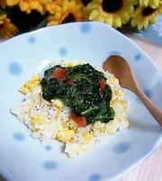塩トマトdeトロトロ炒飯の写真