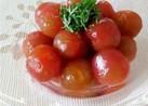 白だしと寿司酢deミニトマトのマリネ