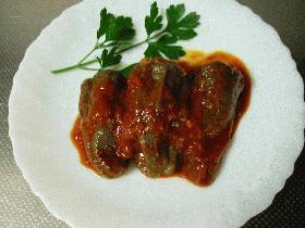 イタリアの肉詰めピーマン
