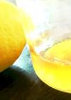 レモンシロップ ジュースやかき氷に♪